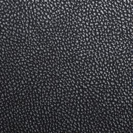 Möbelfolie Würzburg Leder silber und schwarz